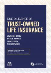 Due Diligence of Trust-Owned Life Insurance cover