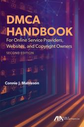 DMCA Handbook for Online Service Providers, Websites, and Copyright Owners cover