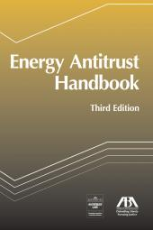 Energy Antitrust Handbook cover