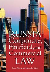 Russia Corporate, Financial and Commercial Law cover