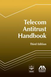 Telecom Antitrust Handbook cover