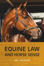 Equine Law and Horse Sense cover