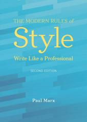 The Modern Rules of Style cover