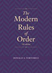 The Modern Rules of Order cover