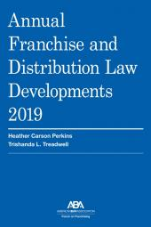 Annual Franchise and Distribution Law Developments cover