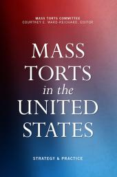 Mass Torts in the United States cover