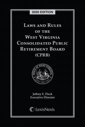 Laws and Rules of the West Virginia Consolidated Public Retirement Board cover