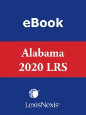 Annotated Code of Alabama: Alabama Legislative Review Service cover