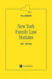 New York Family Law (Yellowbook) cover