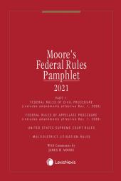 Moore's Federal Rules Pamphlets 1&3 cover