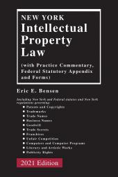 New York Intellectual Property Law cover