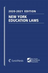 New York Education Laws (NYSSBA Members and Students Only) cover