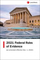 Federal Rules of Evidence: LexisNexis Federal Documents cover