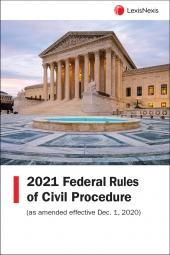 Federal Rules of Civil Procedure: LexisNexis Federal Documents cover
