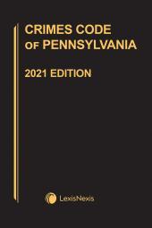 Crimes Code of Pennsylvania cover