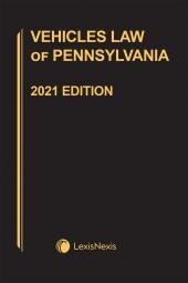 Vehicles Law of Pennsylvania cover