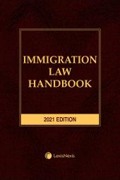 Immigration Law Handbook cover
