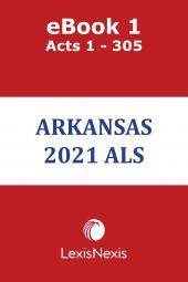 Arkansas Advance Legislative Service cover