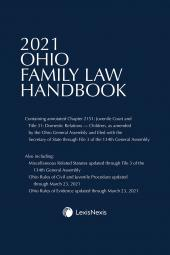 Ohio Family Law Handbook cover
