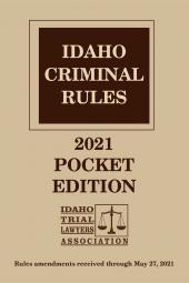 Idaho Criminal Rules cover