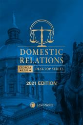 Georgia Domestic Relations Law cover