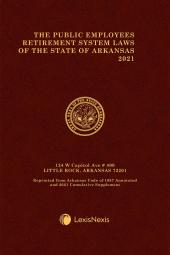 The Public Employees Retirement System Laws of the State of Arkansas cover