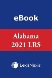 Annotated Code of Alabama: Alabama Legislative Review Service cover