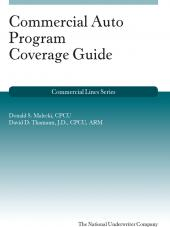 Commercial Auto Program Coverage Guide cover