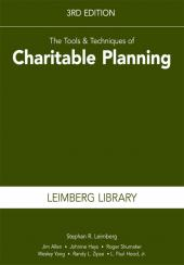 The Tools & Techniques of Charitable Planning cover