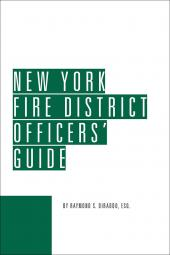 New York Fire District Officers' Guide cover