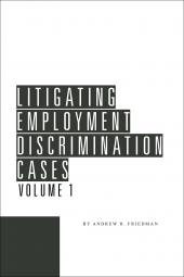 Litigating Employment Discrimination Cases cover