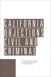 California Objections cover