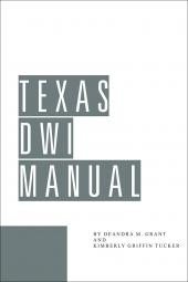 Texas DWI Manual cover