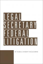 Legal Secretary Federal Litigation cover