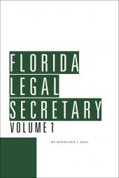 Florida Legal Secretary cover