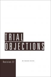 Trial Objections cover