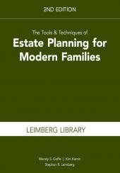 The Tools & Techniques of Estate Planning for Modern Families cover