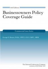 Businessowners Policy Coverage Guide cover