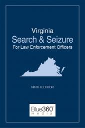 Virginia Search and Seizure for Law Enforcement Officers cover