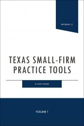 Texas Small-Firm Practice Tools cover