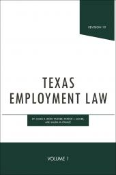 Texas Employment Law cover