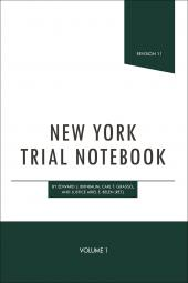 New York Trial Notebook cover