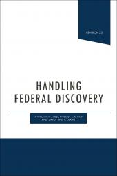 Handling Federal Discovery cover