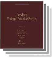 Bender's Federal Practice Forms cover