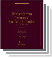 New Appleman Insurance Bad Faith Litigation SAMPLE cover