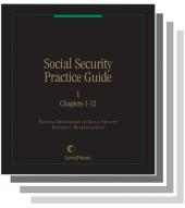 NOSSCR's Social Security Practice Guide cover