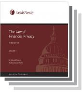 The Law of Financial Privacy cover
