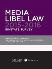 Media Libel Law 50-State Survey (Non-Members) cover
