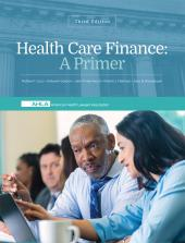 AHLA Healthcare Finance: A Primer, Third Edition (Non-Members) cover
