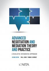 Advanced Negotiation and Mediation Theory and Practice, Second Edition cover